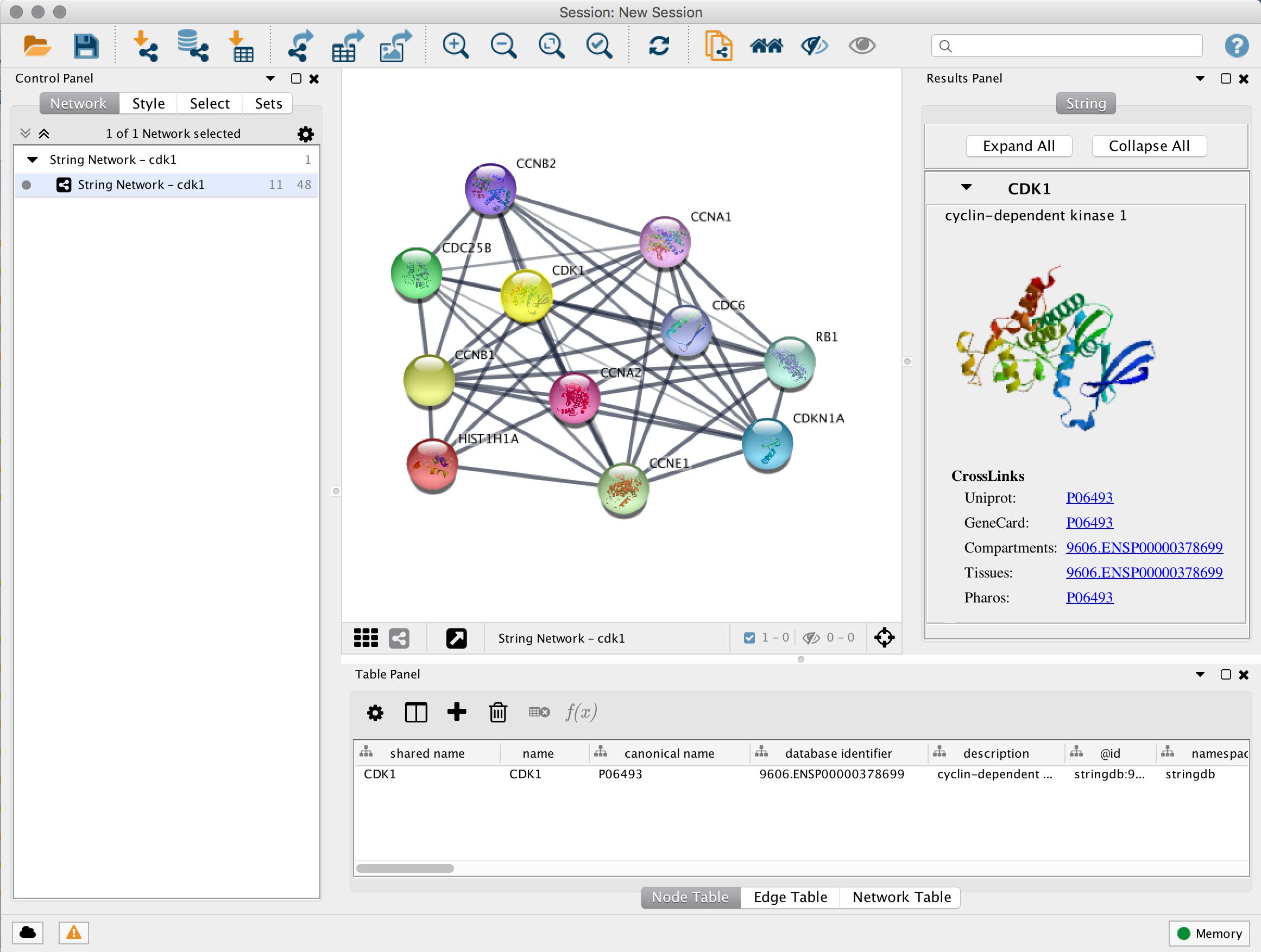 Cytoscape App Store - stringApp
